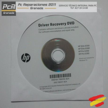 DVD DRIVER RECOVERY HP KIT 708436-B24 HP ELITE 8300 8380 HP PRO 6300 6380